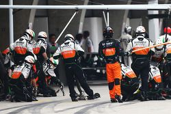 Boxenstopp: Sahara Force India F1 Team