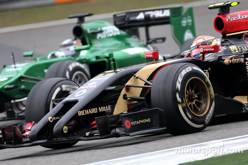Pastor Maldonado, Lotus F1 Takımı ve Kamui Kobayashi, Caterham F1 Takımı