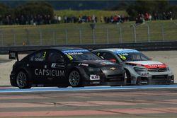 Tom Chilton, Chevrolet RML Cruze TC1, ROAL Motorsport et Sébastien Loeb, Citroën C-Elysee WTCC, Citr