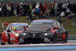 Robert Huff, LADA Granta 1.6T, LADA Sport LukoNorbert Michelisz, Honda Civic WTCC, Zengo Motorsport