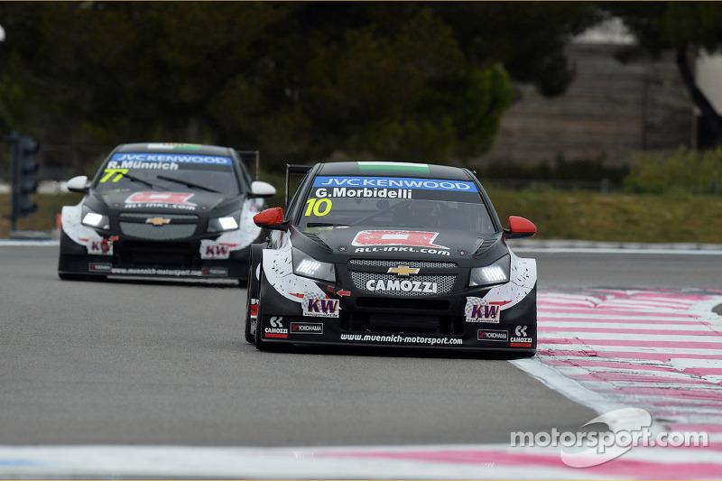 Gianni Morbidelli, Chevrolet Cruze RML TC1, ALL-INKL_COM Munnich Motorsport e René Münnich, Chevrolet Cruze RML TC1, ALL-INKL_COM Munnich Motorsport