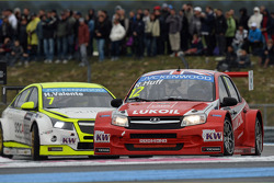 Hugo Valente, Chevrolet RML Cruze TC1, Campos Racing and Robert Huff, LADA Granta 1.6T, LADA Sport L