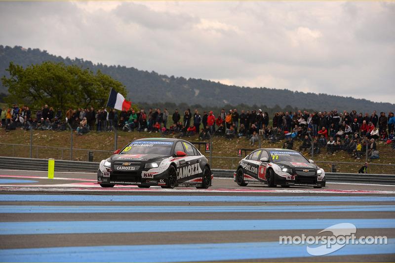 Gianni Morbidelli, Chevrolet RML Cruze TC1, ALL-INKL_COM Munnich Motorsport ve René Münnich, Chevrol