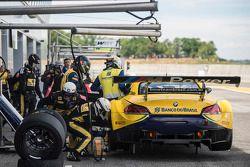 #21 BMW Sports Trophy Team Brasil BMW Z4: Nelson Piquet Jr., Matheus Stumpf