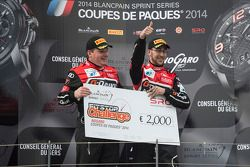 Pit stop challenge winners #3 G-Drive Racing Audi R8 LMS Ultra