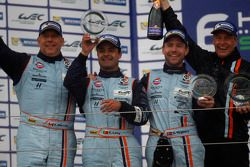 LM GTE AM podio: secondo posto Paul Dalla Lana, Pedro Lamy, Christoffer Nygaard