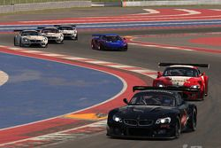 iRacing's BMW Z4 GT3 car races on Circuit of the Americas