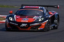 #99 ART Grand Prix McLaren MP4-12C GT3: Ricardo Gonzalez, Karim Ajlani, Alex Brundle
