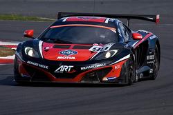 #99 ART Grand Prix 迈凯伦 MP4-12C GT3: 里卡多·冈萨雷斯, 卡里姆·阿杰拉尼, 阿历克斯·布伦德尔