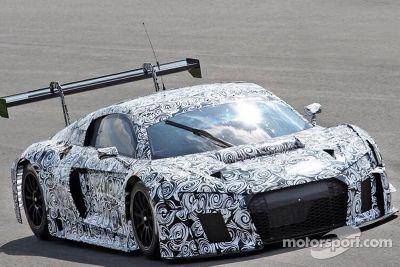 Monza, test privato Audi, aprile