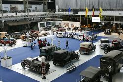 Exposities in het Autoworld museum