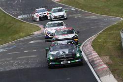 Yelmer Buurman, Hubert Haupt, Christian Menzel, Black Falcon, Mercedes-Benz SLS AMG GT3