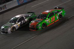 Landon Cassill and Danica Patrick