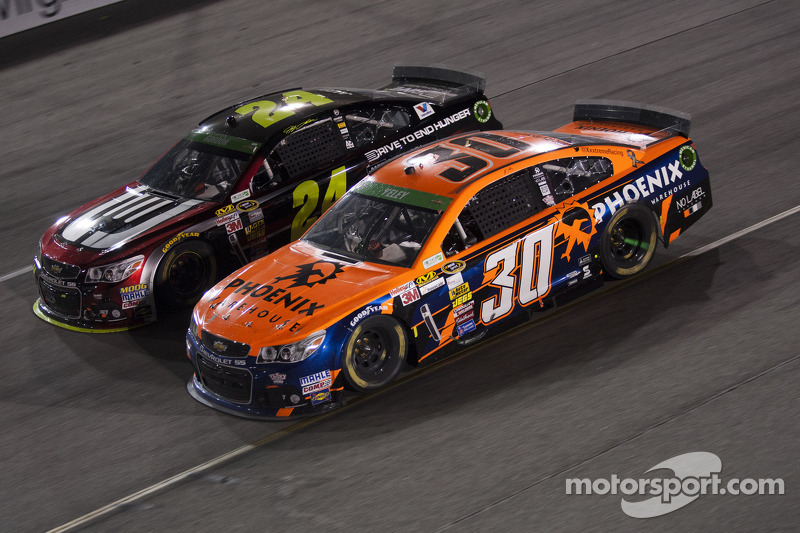 Jeff Gordon e J.J. Yeley