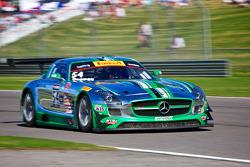 #54 Black River Caviar 梅赛德斯 AMG SLS GT3: 蒂姆·帕帕斯