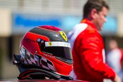 Helmet of Chris Ruud