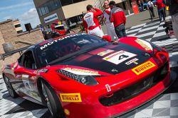 Coppa Shell winner Chris Ruud, Ferrari of Beverly Hills