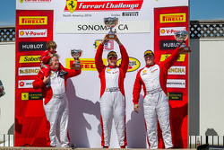 Coppa Shell Podium: Chris Ruud, Jon Becker, James Weiland