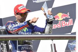 Third place Jorge Lorenzo, Yamaha Factory Racing