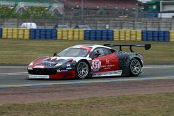 #350 Team Duqueine Ferrari 458 Italia: Gilles Duqueine, Philippe Colançon
