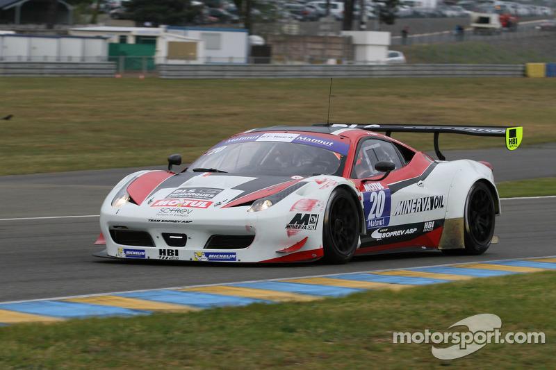 #20 Team Sofrev ASP Ferrari 458 Italia: Jean-Luc Beaubelique, Ludovic Badey