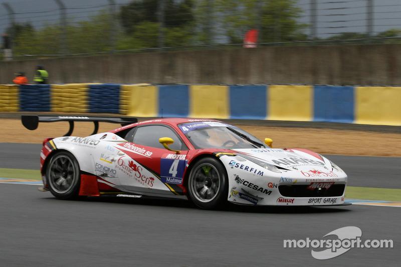#4 Sport Garage 法拉利 458 Italia: 吉尔斯·瓦纳莱, Bruce Lorgère-Roux