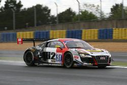 #51 Sébastien Loeb Racing Audi R8 LMS Ultra: Генри Хассид и Майк Паризи