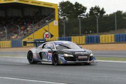 #42 Saintéloc Racing Audi R8 LMS Ultra: David Hallyday, Grégory Guilvert