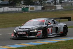 #44 Saintéloc Racing Audi R8 LMS Ultra: Gilles Lallement, Fabrice Rossello