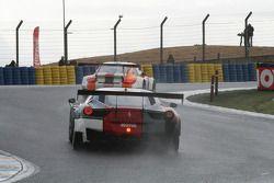 #350 Team Duqueine Ferrari 458 Italia: Gilles Duqueine, Philippe Colancon