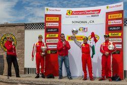 倍耐力专业组领奖台: Ricardo Perez, Ryan Ockey, Damon Ockey
