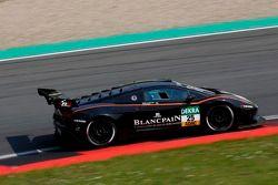 #25 Blancpain Racing Lamborghini Gallardo FL2 GT3: Peter Kox, Marc Hayek