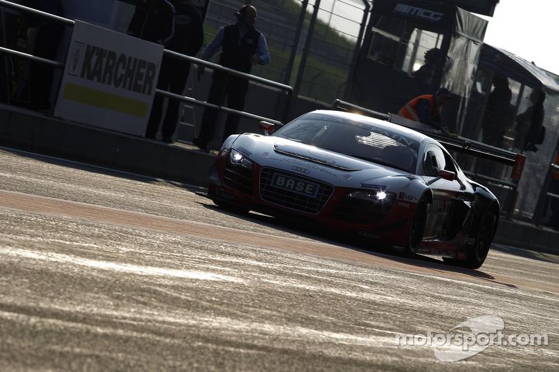 #12 Prosperia C. Abt Racing Audi R8 LMS ultra: Markus Winkelhock, Stefan Wackerbauer