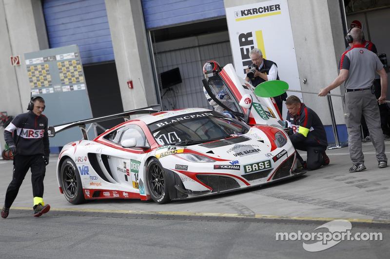 #14 MRS-GT-Racing McLaren MP4-12C GT3: Florian Spengler, Ryan Sharp