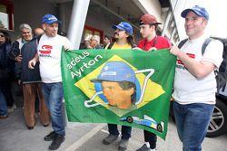 Ayrton Senna's fans