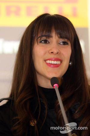 Press conference: the evolution of safety in F1, Paula Senna Lalli, niece of Ayrton Senna da Silva