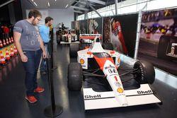 Senna museu F1 McLaren