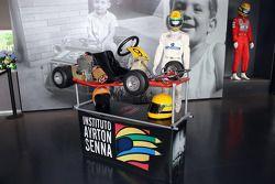 Senna museu Go Kart