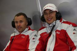 Tom Kristensen et Loic Duval