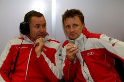 Tom Kristensen en Allan McNish