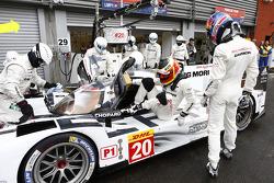 Timo Bernhard et Mark Webber