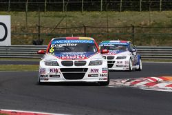 Franz Engstler, BMW 320 TC, Liqui Moly Team Engstler y Pasquale di Sabatino, BMW 320 TC, Liqui Moly Team Engstler