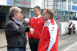 Norbert Haug, Audi Sport Team Phoenix, Audi RS 5 DTM, Dieter Gass, sporting director of Audi DTM
