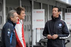 Jacky Ickx, Audi Sport Team Abt, Audi RS 5 DTM, Portrait; and Manuel Reuter (GER)