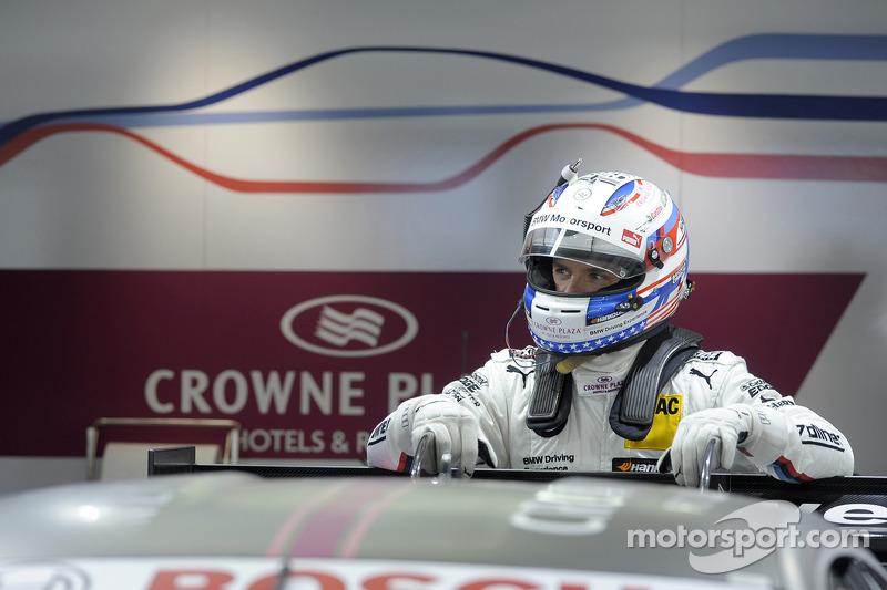Joey Hand, BMW Team RBM BMW, BMW M4 DTM, Retrato