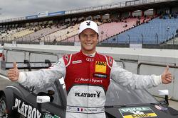 La pole fue para Adrien Tambay, del equipo Audi Sport Abt Sportsline, en el Audi RS 5 DTM,