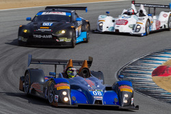 #08 RSR Racing ORECA FLM09: Chris Cumming, Alex Tagliani