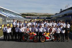 Repsol Honda team photo