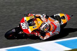 Дани Педроса. ГП Испании, пятничная тренировка.
