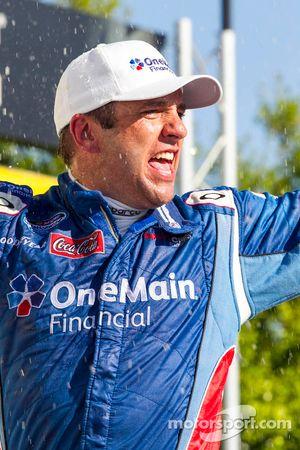 Race winner Elliott Sadler